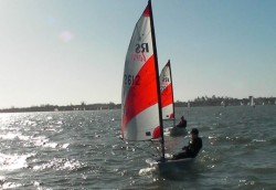 RS Teras compete in Sunday racing