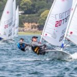Grafham Sailor Mike Kinnear Wins Radial GGM Group at Laser Masters Europeans
