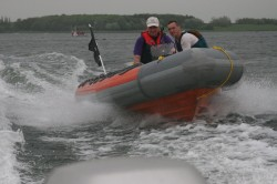Searider at speed